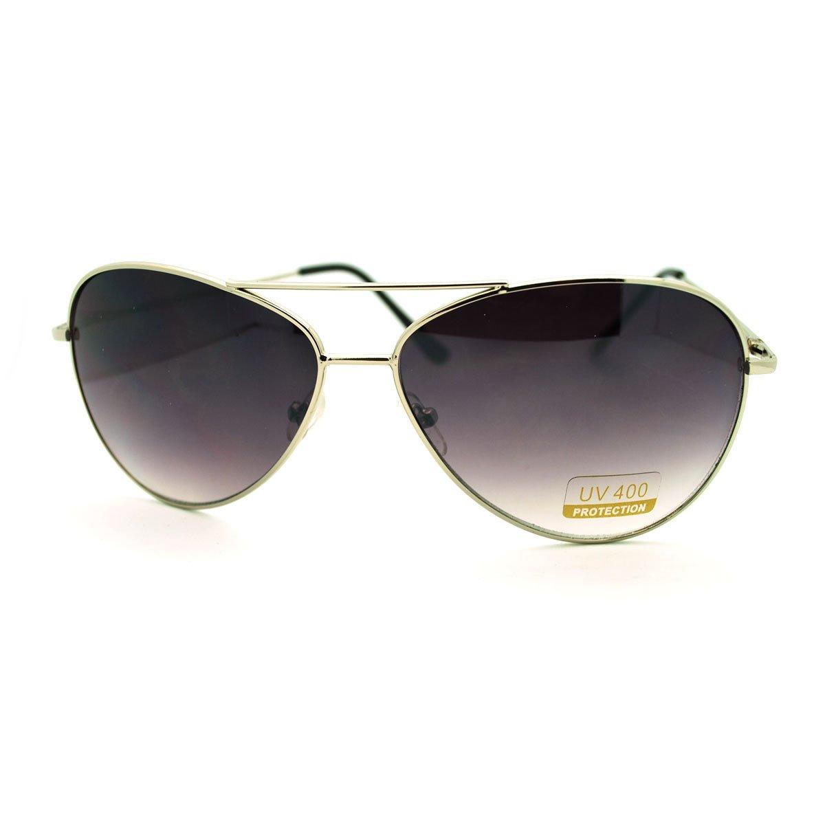 Classic Aviator Sunglasses Simple Timeless Cop Pilot Aviators