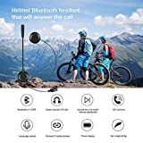 Leoie Motorcycle Helmet Bluetooth Headset BT 4.1 Stereo Music Headphones HD Sound Phone Call Hand Free Earphone