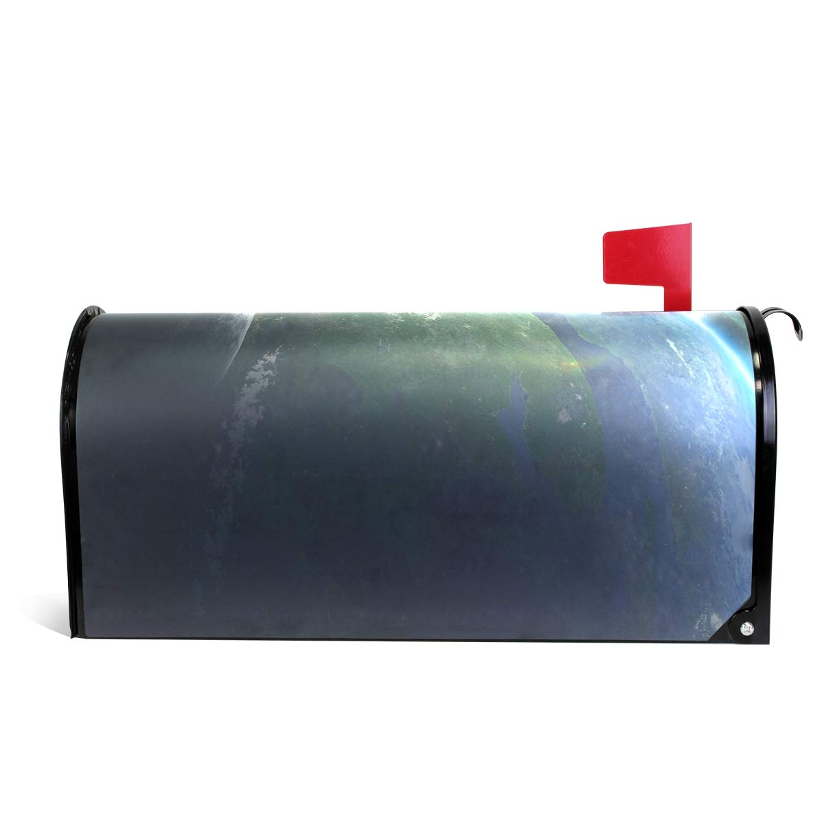 GAGH Mailbox Cover Magnetic Personalized The Strange Light of Outer Space Suitable for US Mailbox 25.5 x 20.8 Inch