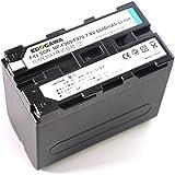 ソニーNP-F960/F970対応バッテリーSONY HDR-FX1000-FX7/HVR-V1J等【EDOGAWA】 保証付(ED-BAT)