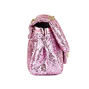 3d497841c7 CMK Trendy Kids Toddler Kids Quilted Glitter Crossbody Handbags Purse Gifts  for Girls