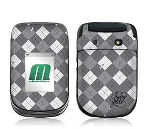 MusicSkins, MS-BG10246, Benny Gold - Argyle, BlackBerry Style (9670), Skin
