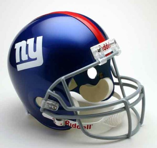 NFL New York Giants Deluxe Replica Football (New York Giants Helmet)