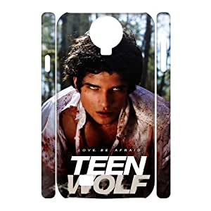 D-PAFD Cell phone Cases Teen Wolf Hard 3D Case For Samsung Galaxy S4 i9500