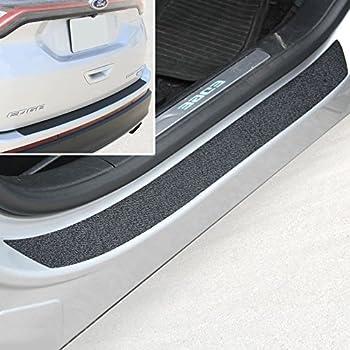 AutofitPro Custom Rubber Rear Bumper Protector Guard for 2015 2016 2017 2018 2019 Ford Edge
