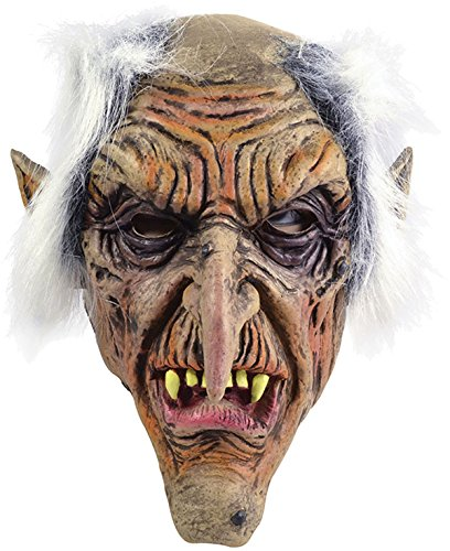Bristol Novelty BM424 Goblin Mask, One Size ()
