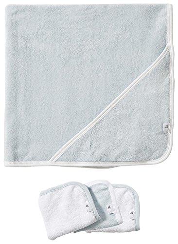 2 plis serviette Burt Bees bébé