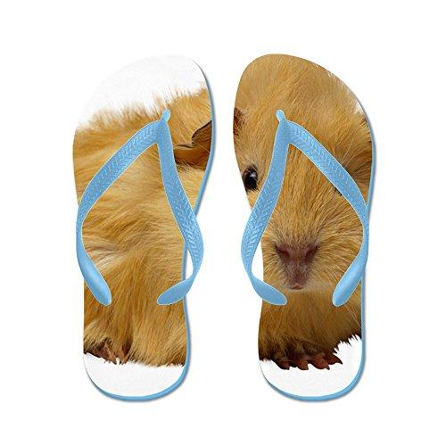 CafePress Guinea Pig Gifts - Flip Flops, Funny Thong Sandals, Beach Sandals Caribbean Blue
