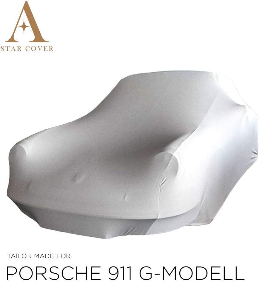 Oldtimer Voiture DE Sport B/ÂCHE Auto Garage Gris Housse Star Cover Housse INT/ÉRIEUR Compatible avec Porsche 911 LIVR/É Rapide Housse Cabriolet