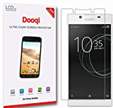 6X Dooqi HD Clear LCD Screen Protector Shield Cover For Sony Xperia L1