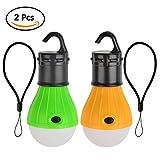 ATPWONZ 2PCS Portable Waterproof LED Tent Light Bulb High...