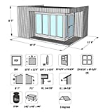 Allwood Arlanda | 180 SQF Garden House Kit