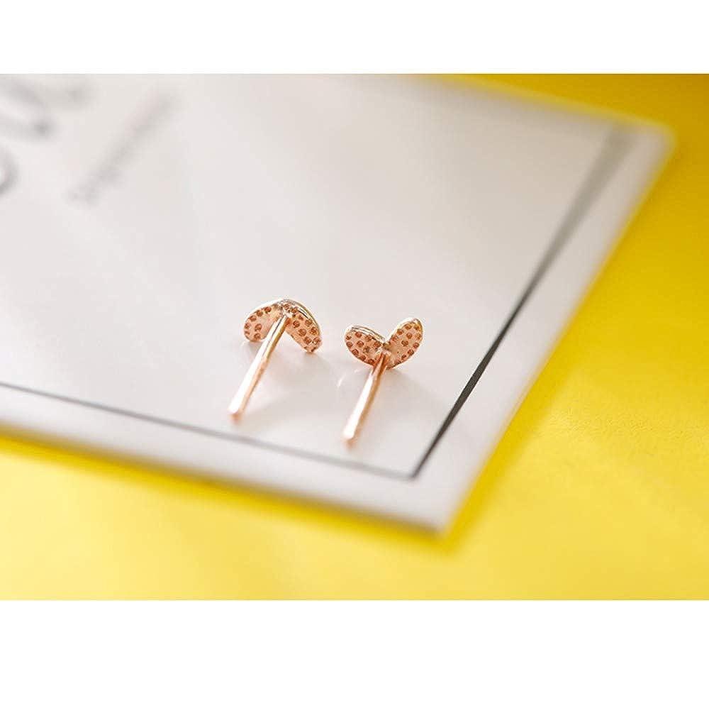 LSDAMW Earrings For Women Drop Dangle Girls Love Ear Pierced Earrings Sterling Silver Simple Small Earrings