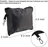 1fca9077b101 HTB Ultralight Backpack Rain Cover with Portable Storage Pouch ...