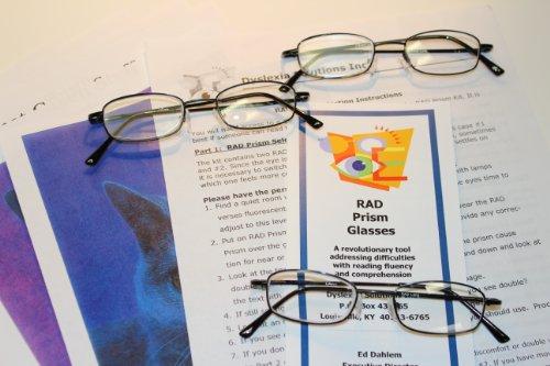 RAD Prism Glasses - Helps Dyslexics Read Fluently (RAD Kit Option II)