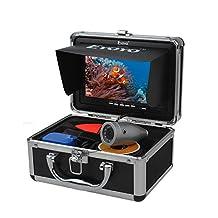 "Eyoyo 7"" LCD Underwater 50m(165ft) 1000TVL Fish Finder Sea Ice Fishing Camera Cam"