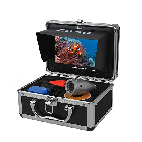 Eyoyo 7' LCD Underwater 50m(165ft) 1000TVL Fish Finder Sea Ice Fishing Camera Cam