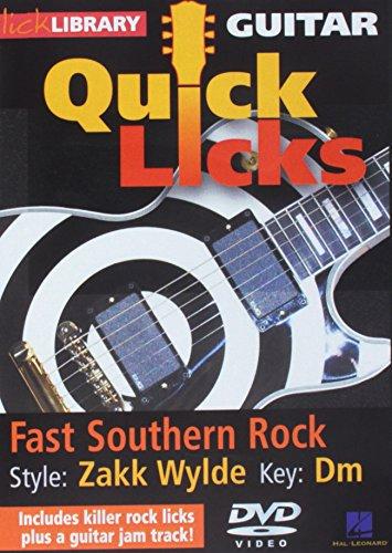Quick Licks - Zakk Wylde Fast Southern Rock Key:Dm DVD
