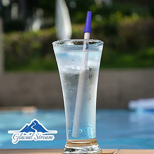 Portable Personal Water Filter Straw Purifier | Filtration for Survival Emergency Travel Camping Hiking Backpacking and Home | Purification w/Patented Technology fits in Bottles|Storage Tube Included