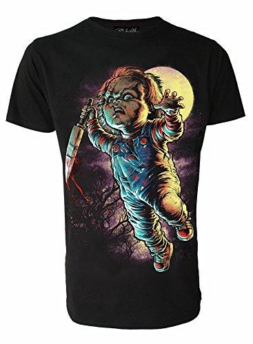 Chucky Genuine Darkside Mens Horror Movie T Shirt X Large
