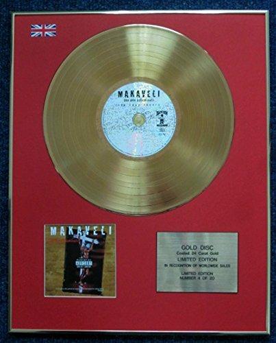 Tupac Shakur - Limited Edition CD 24 Carat Gold Coated LP Disc - The Don Killuminati The 7 Day Theory