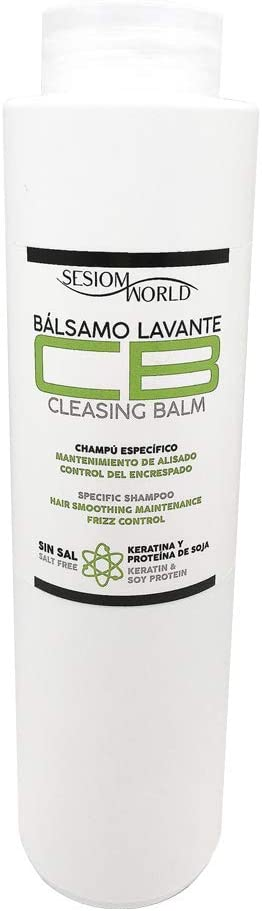 Champú CB Bálsamo lavante con keratina y proteína de soja SIN SAL 500ml. sesioMWorld®