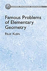 Famous Problems of Elementary Geome (Dover Phoenix Editions)