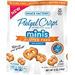 Snack Factory Gluten Free Minis Pretzel Crisps, Original, 5 Ounce