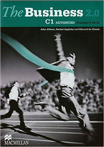 The Business 2.0 Advanced Level Students Book: Amazon.es: Meehan, Antoinette, Watkins, Frances, Emmerson, Paul: Libros en idiomas extranjeros