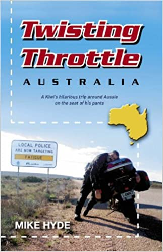Book Twisting Throttle Australia by Mike Hyde (2007-08-02)