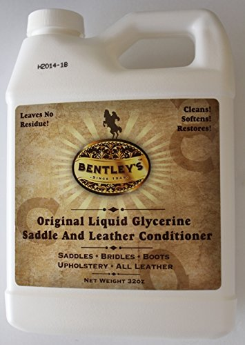 Forever Car Care Products Bentley Liquid Glycerine Saddle & Leather Conditioner Soap - 32 oz -