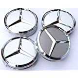 Car-Emall Mercedes-Benz 60mm Wheel Center Caps 4-pc Set Special Offer