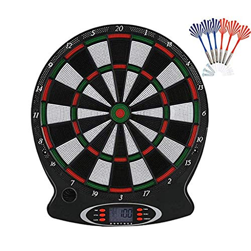LILICAT Unisex's Target Safety Dart Board-Games for Kids-Leisure Sport for Office Electronic Darts Target, Professional…