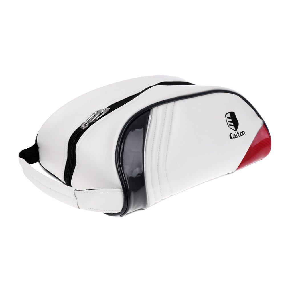 monkeyjackゴルフスポーツ靴バッグ防水性スポーツシューズケース靴ポケットホワイト B075FN1PHW