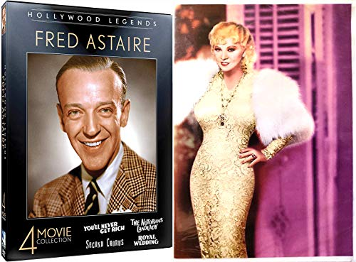 (Buxom Beauty Funny Mae West + Fred Astaire Collection I'm No Angel / Goin to Town / Night After / Royal Wedding / Notorious Landlady / Second Chorus You'll Never Get Rich 9 Film DVD Classic Movies)