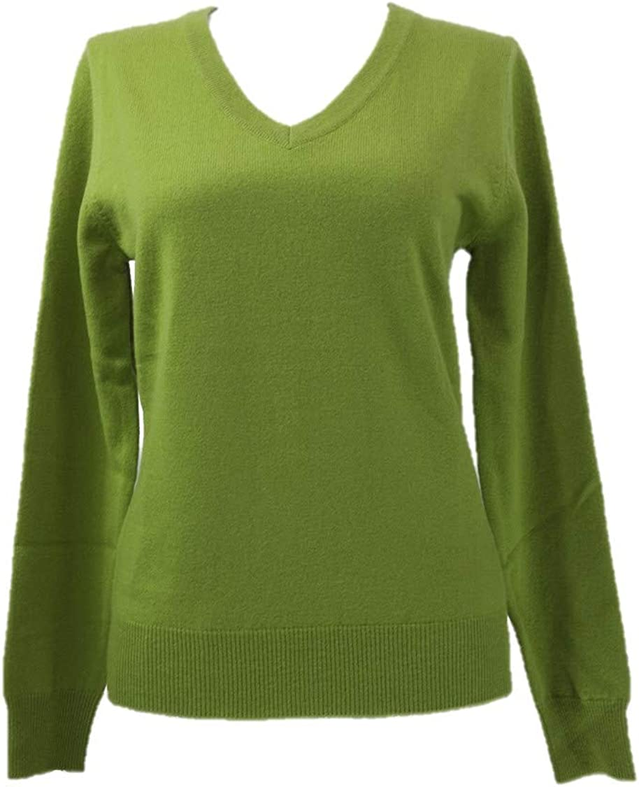 Shephe Womens V Neck Cashmere Sweater
