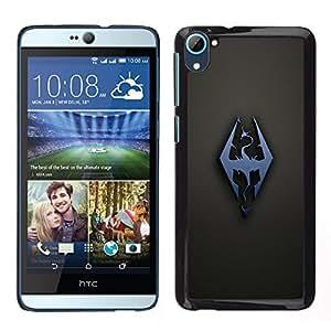 Dragón Sigil OYAYO HTC Desire D826 //Dise?os frescos para todos los gustos! Top muesca protección para su teléfono inteligente!
