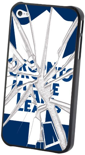 NHL Toronto Maple Leafs iPhone 5 Broken Glass Lenticular Case (5 Case Iphone Leafs Maple Toronto)