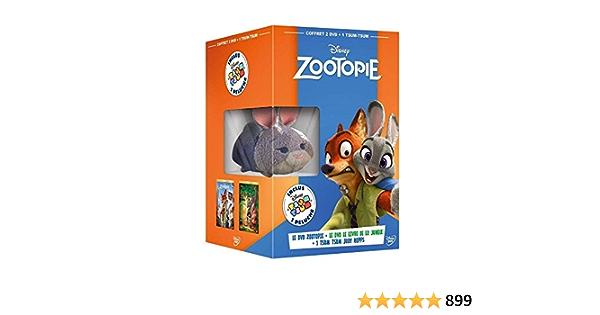 Zootopie/Le Livre De La Jungle + Peluche 2 Dvd Edizione ...