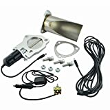 Evil Energy 3 Inch Electric Exhaust Cutout Manual Switch Toggle Downpipe Motor Kit