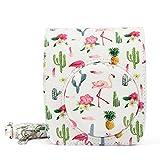 QUEEN3C Protective Case Supplies for For FUJIFILM Instax Mini90/SQ6 (For mini90, Flamingo white)