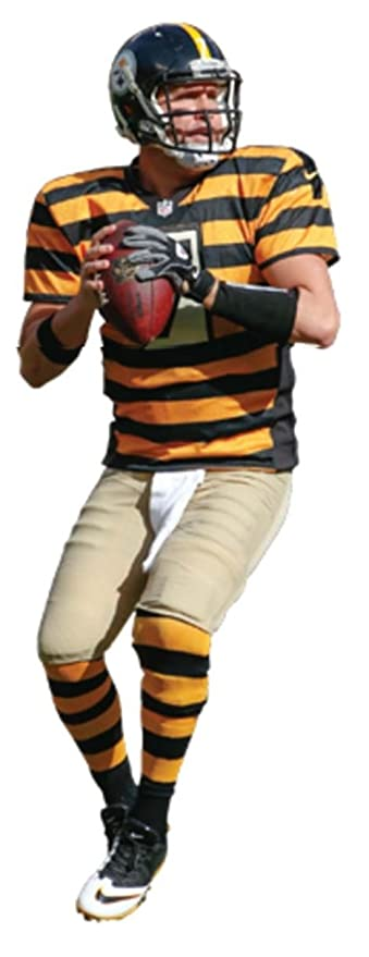 finest selection 58150 ca693 Ben Roethlisberger FATHEAD Jr. Pittsburgh Steelers Throwback ...