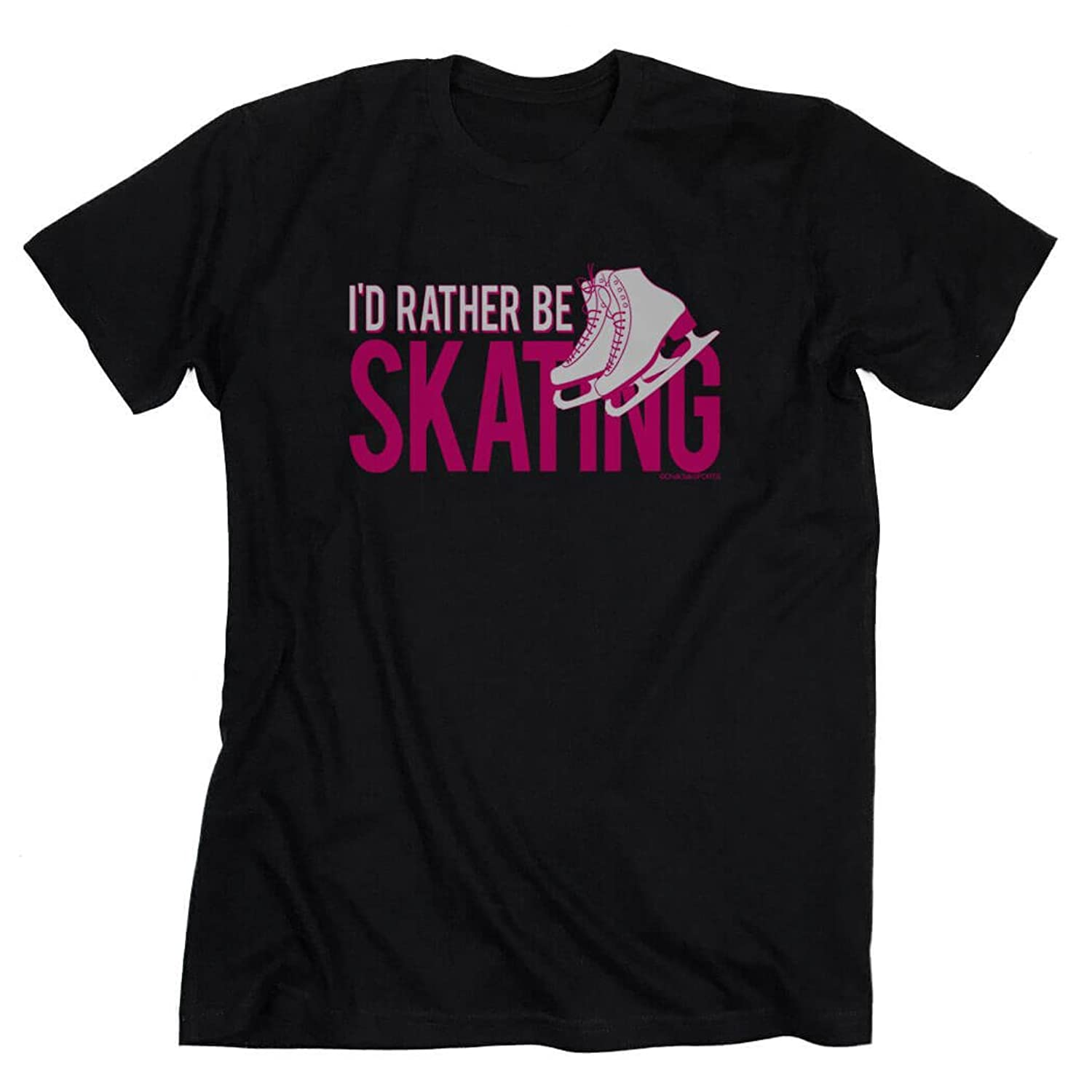 Design t shirt rollerblade - Amazon Com I D Rather Be Skating T Shirt Figure Skating Tees By Chalktalk Sports Clothing