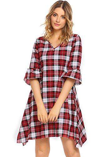 a line babydoll dress - 5