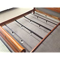 Heavy Duty Center Support Bars for Low Profile Beds 5-8 - Size: king