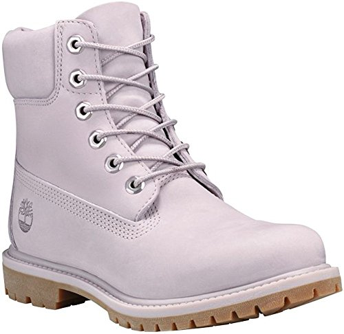 Comfort Uppers Waterproof for Women's Added Grey with Premium Padded Durable Light Leather 6 Collar inch Boots Timberland x648Sq4
