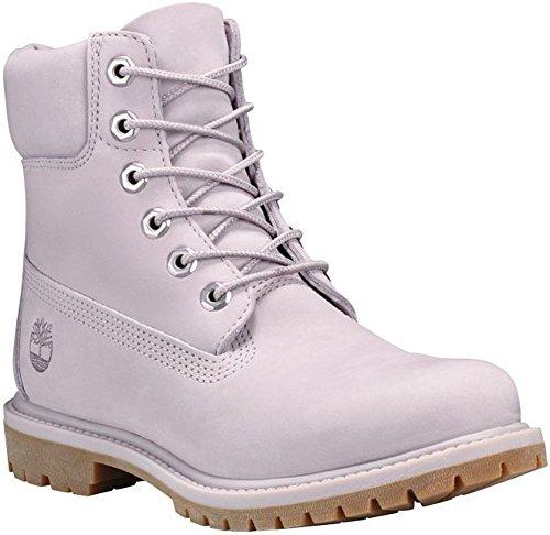 Timberland Womens 6 Inch Premium Boot, Gull Grey Waterbuck Monochromatic, Size 5.5