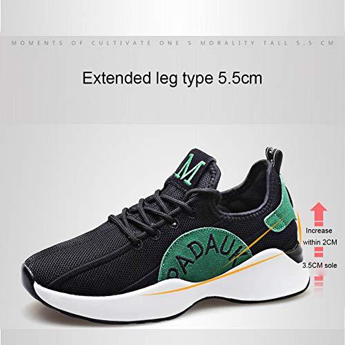Wqing Deportivo Atlética Casual Competición De Zapatillas Deporte Ejecución Deportivas Calzado Red RrfTwq5R