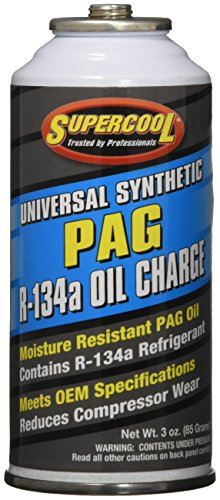 TSI Supercool 16310 A/C 134a Charge and PAG Lube, 3 fl. oz.