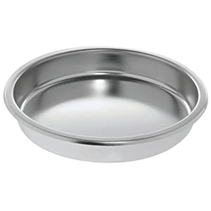 HUBERT Chafer Chafing Dish Food Pan 6 1/3 Quart Round Stainless Steel- 15 1/4
